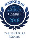 Leading Individual 2018 - Carlos Téllez