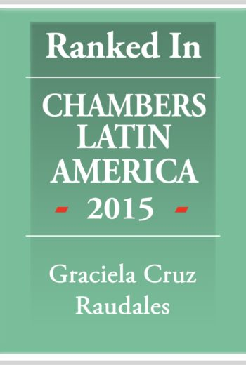 Chambers Latin America 2015 - Graciela Cruz